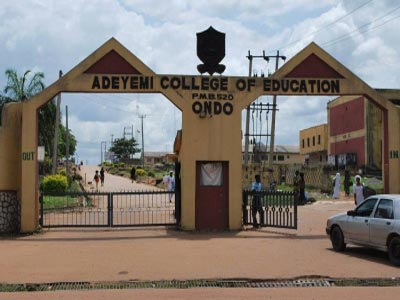 Adeyemi College of Education, Ondo, ACEONDO part-time degree admission list
