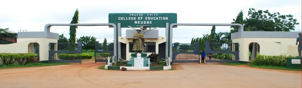 Nwafor Orizu College of Education Nsugbe supplementary admisison list