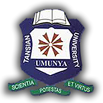 Tansian University Part-Time Admission Form