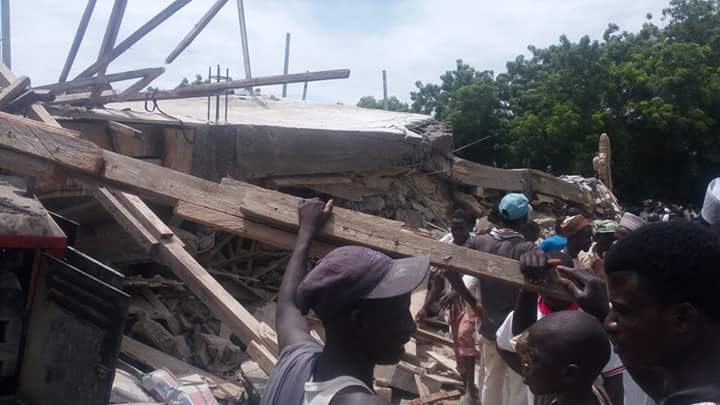 Kano University of Technology collapsed building2