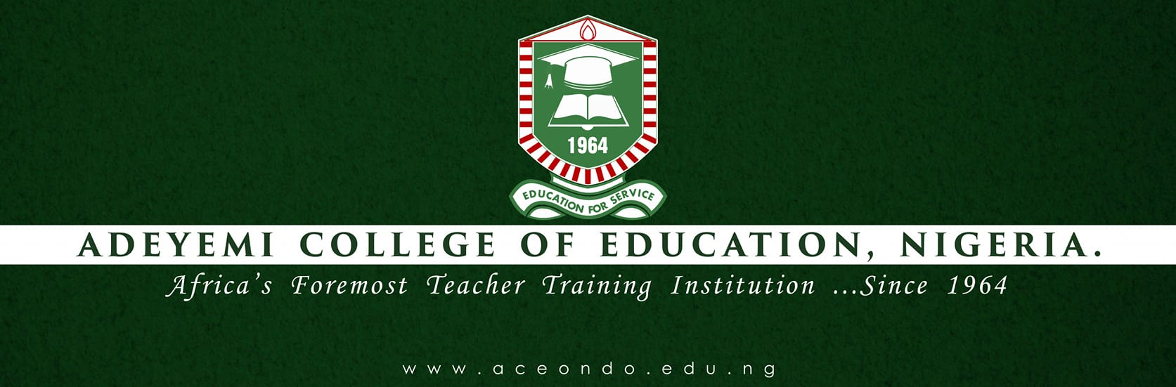 Adeyemi College of Education Convocation Ceremony Programme of Events