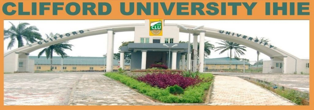 Clifford University (CLU) Post UTME Form