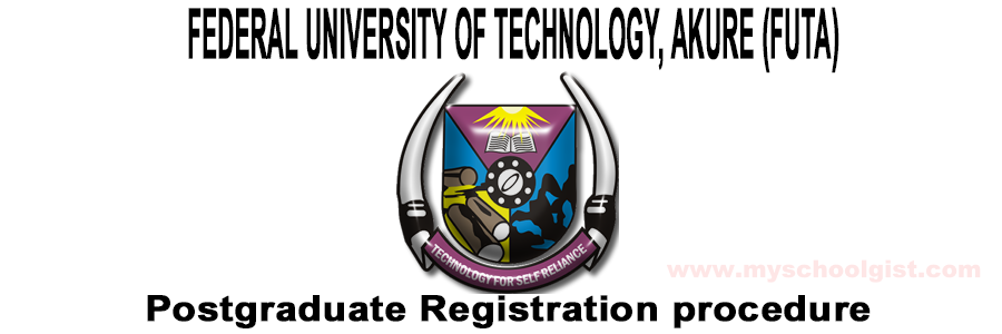 futa postgraduate registration procedure