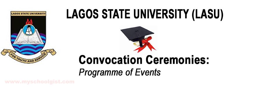 lasu convocation ceremonies programme of events