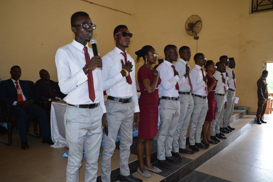 MAPOLY Inaugurates New Students' Leaders