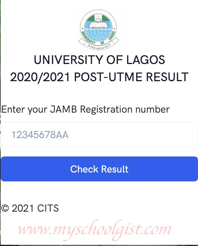 How to Check University of Lagos (UNILAG) Post UTME Screening Result