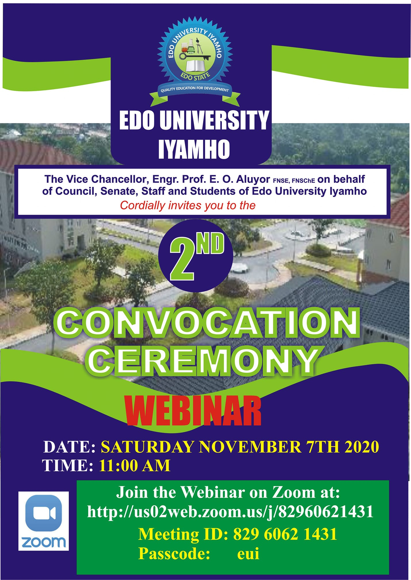 Edo University Convocation Ceremony