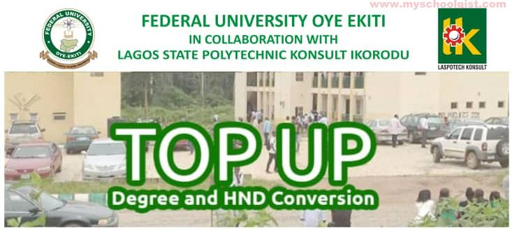 FUOYE - LASPOTECH Top-Up (Degree and HND Conversion Admission