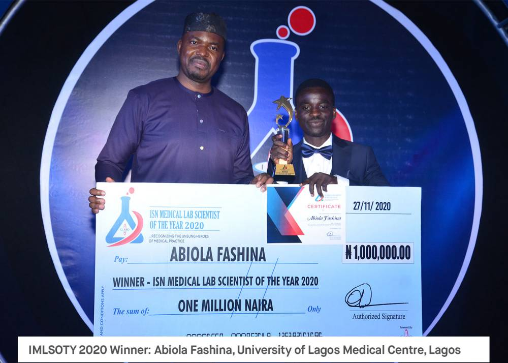 ISN Medical Lab Scientist of the Year