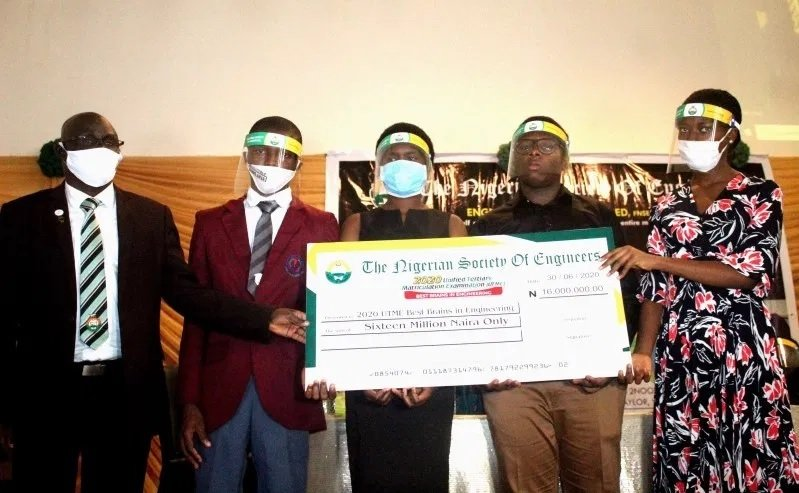 Nigerian Society of Engineers  (NSE) Gives N16m Scholarship to Best UTME Candidates