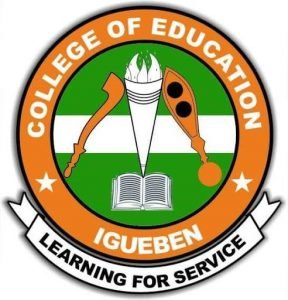 College of Education Igueben Academic Calendar