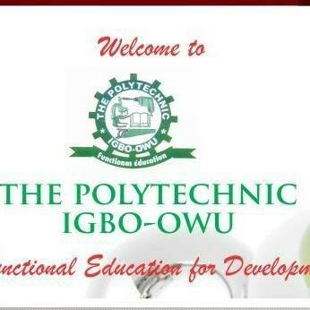 The Polytechnic Igbo-Owu Courses