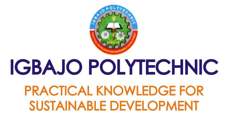 Igbajo Polytechnic ND Part-Time Admission Form
