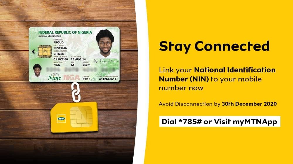 Link your NIN to your MTN Mobile Number