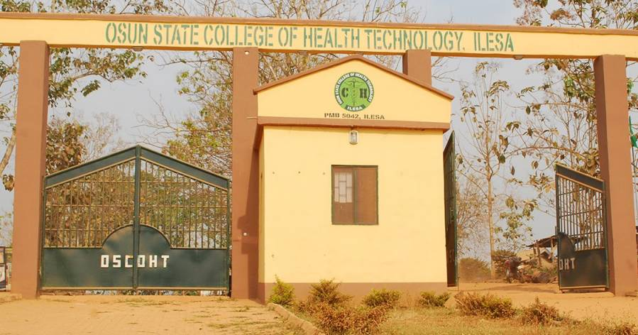 Osun State College of Health Technology, Ilesa Admission Form