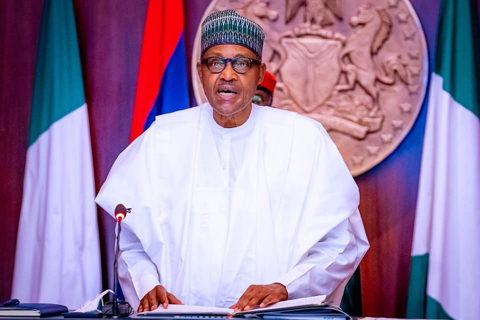 Buhari Offers Automatic Employment, Scholarship to 110 Ex-Corps Members