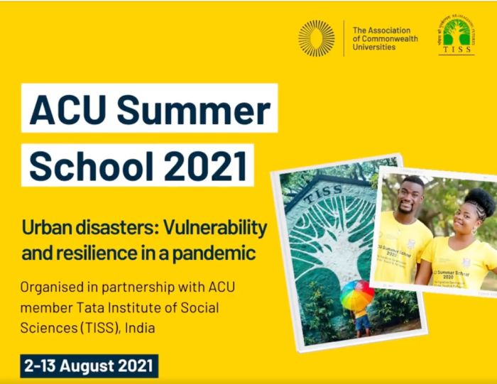Association of Commonwealth Universities (ACU) Summer School