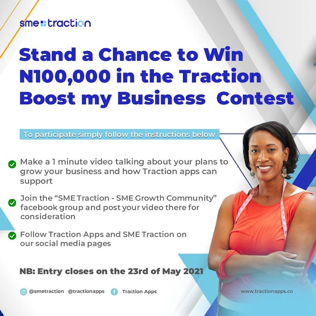 Traction Boost my Business Contest