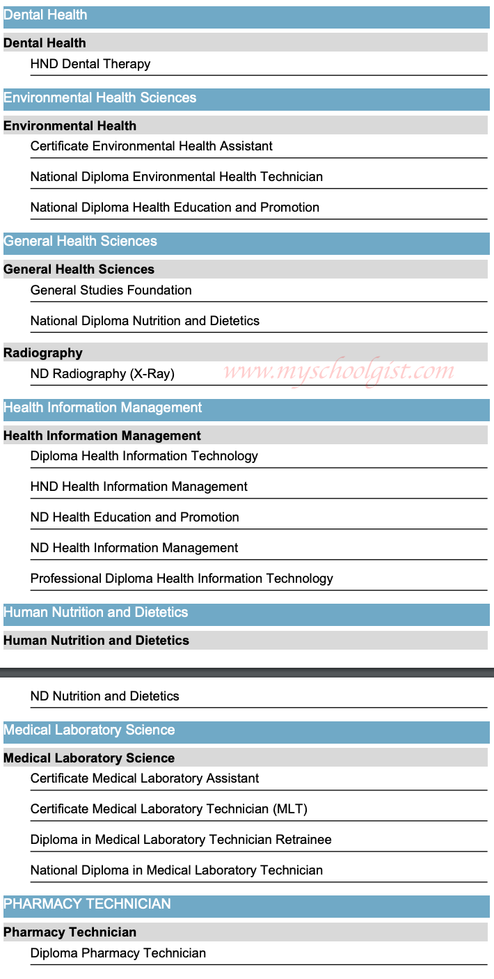 Bill and Melinda Gates College of Health Technology Courses