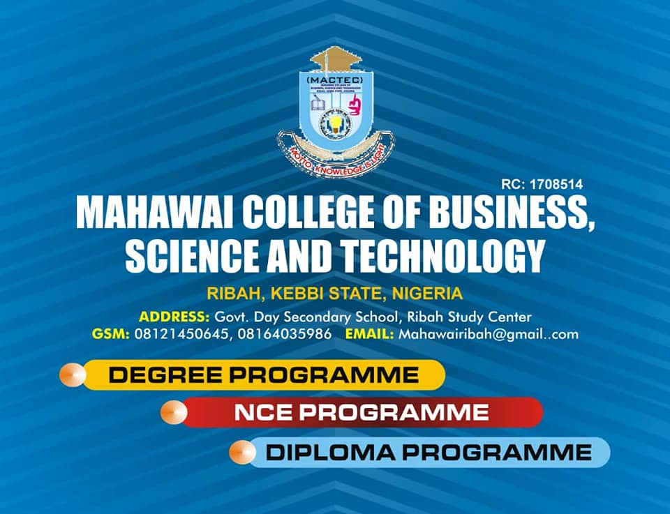 Mahawai College of Business, Science and Technology (MACTEC)