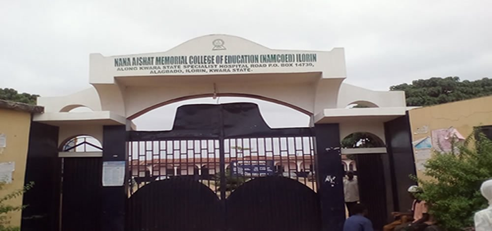 Nana Aishat Memorial College of Education (NAMCOED) NCE Part-Time Admission Form